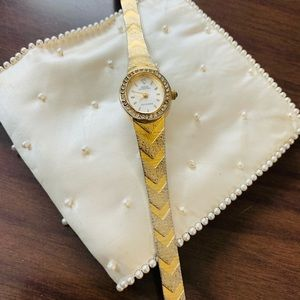 ♻️🌿Vintage   Sarah Coventry 1960s Watch